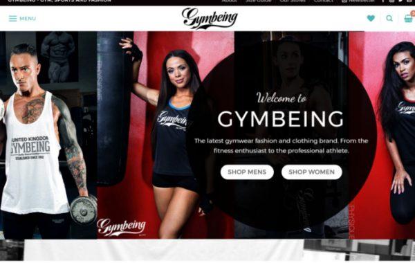 Gym being UK Web Shop