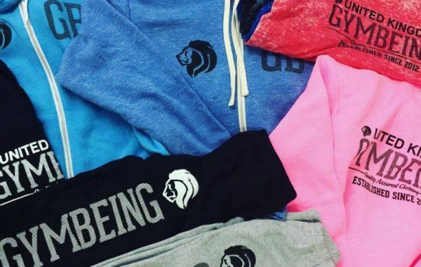 Gym Being new clothing range