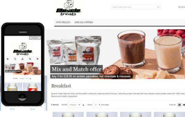 Muscle Treats Web Shop
